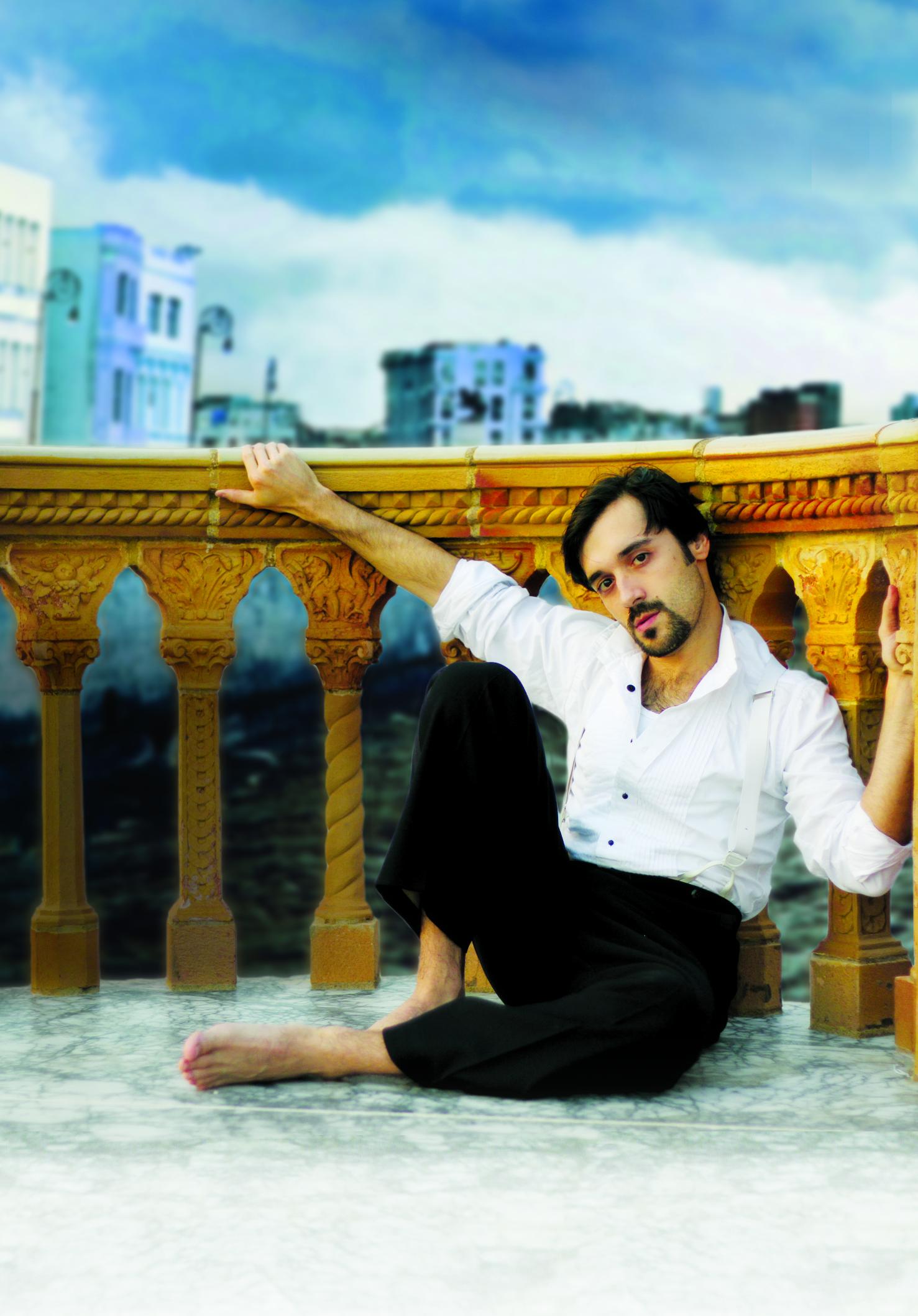 Miami native Frankie J. Alvarez as the title character in Hmlet, Prince of Cuba