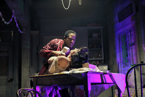 Blair Underwood and Ari Nicole Parker in A Streetcar Named Desire / Photo by Ken Howard