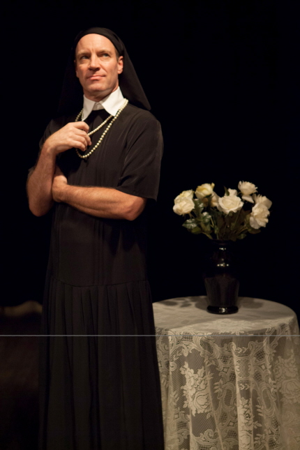 Tom Wahl in Zoetic's I Am My Own Wife / Photo by Justin Namon