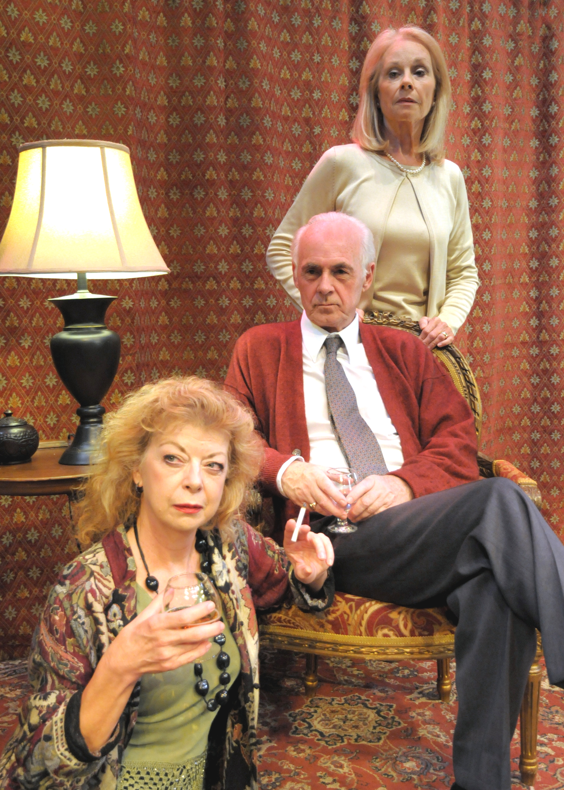 Angie Radosh, Dennis Creaghan and Maureen Anderman will head Edward Albee's A Delicate Balance