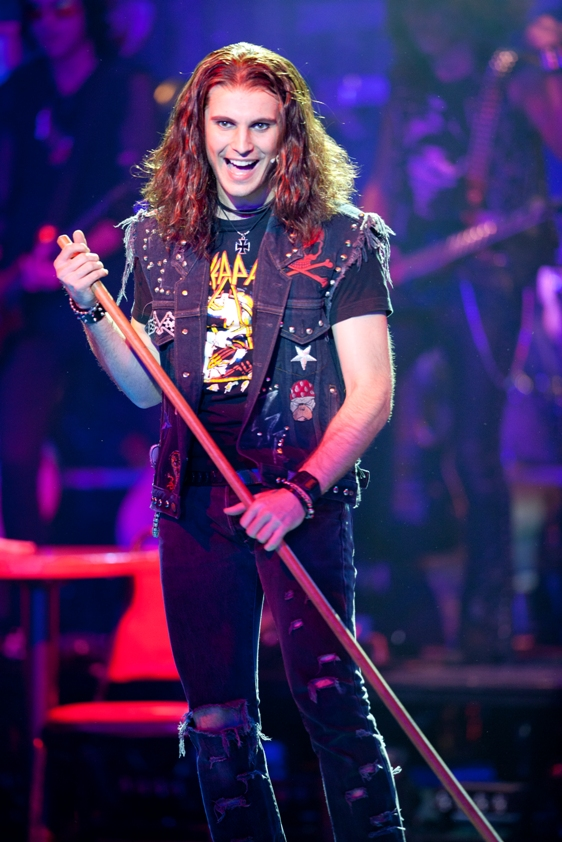 """Miami native Dominique """"Dom"""" Scott returns home at the head of the national tour of Rock of Ages at the Arsht Center this week. / Photo by Scott Suchman"""