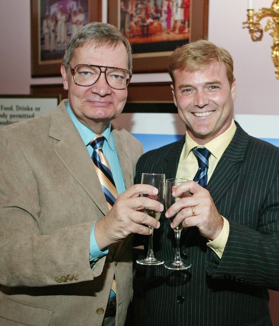 Michael Hall and Clive Chorleton