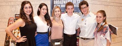 Members of the 2012-2013 Teen Ambassador program at the Broward Center