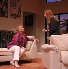 Barbara Bradshaw and Erin Joy Schmidt in Actors' Playhouse's Other Desert Cities