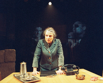 Tovah Feldshuh as Golda Meir in Golda's Balcony / Photo by Aaron Esptein