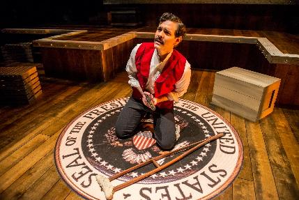 Nicholas Richberg as Wilkes Booth