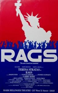 Original Broadway poster 1986