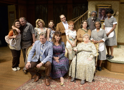 The cast of Horton Foote's Dividing The Estate at Palm Beach Dramaworks / Photo by Alicia Donelan