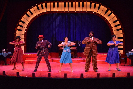 The cast of Ain't Misbehavin' at the Wick / Photos by Amy Pasquantonio
