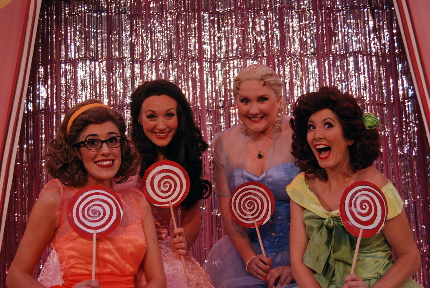Abby Perkins, Amy Miller Brennan, Lindsey Corey and Julie Kleiner as The Marvelous Wonderettes / Photo by Patrick Fitzwater