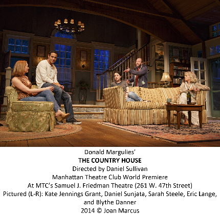 The Chekhov gang's all here in Donald Margulies' The Country House at Manhattan Theatre Club / Photos by Joan Marcus