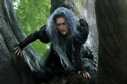 Meryl Streep is looking for whoever is responsible for her new hairdo in Into The Woods / Photo by: Peter Mountain