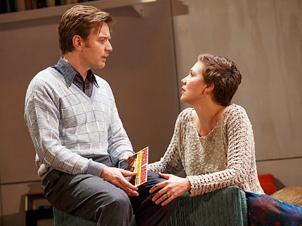 Ewan McGregor as Henry & Maggie Gyllenhaal as Annie in The Real Thing / Photo by Joan Marcus