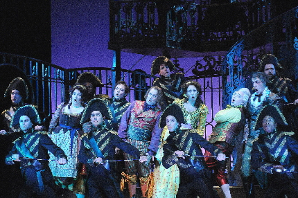 Previous Central City Opera production of The Barber of Seville / Photo by Mark Kiryluk
