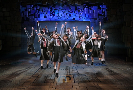 The  students revolt in Matilda the Musical, part of the Kravis On Broadway season in 2015-2016