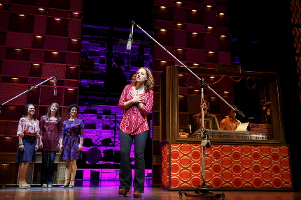 Jessie Mueller as Carole King in the musical Beautiful / Photo by Joan Marcus