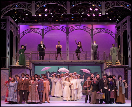 The cast of Actors' Playhouse's Ragtime / Photo by George Schiavone