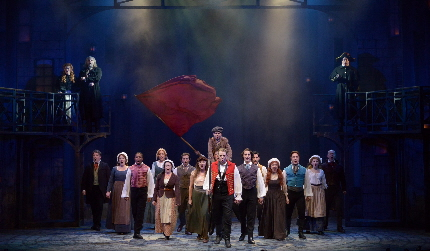 The cast of Les Miserables at the Maltz Jupiter Theatre / Photos by Alicia Donelan