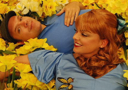 Shane Tanner and Ann Marie Olson in Big Fish, a musical from Slow Burn Theatre Company opening this month / Photo by Patrick Fitzwater