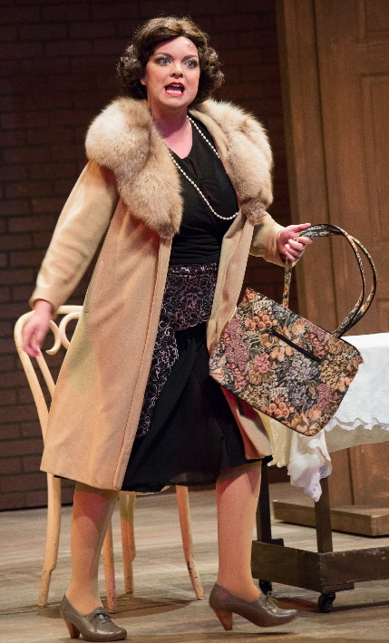 Ann Marie Olson as Mama Rose in Broward Stage Door's Gypsy / Photos by George Wentzler