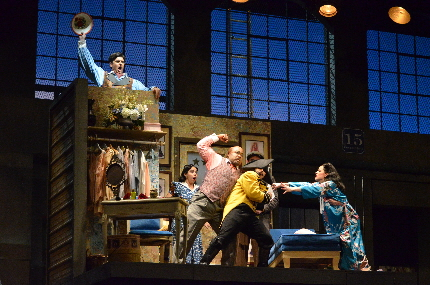 A quiet moment in Florida Grand Opera's The Barber of Seville / Photos by Brittany Mazzurco