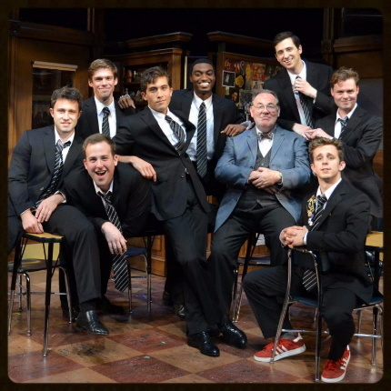 The cast of The History Boys  at Palm Beach Dramaworks / Photo by Samantha Mighdoll