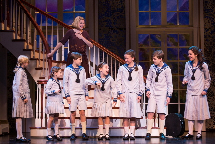 Maria and the kids in The Sound of Music / Photo by Matthew Murphy
