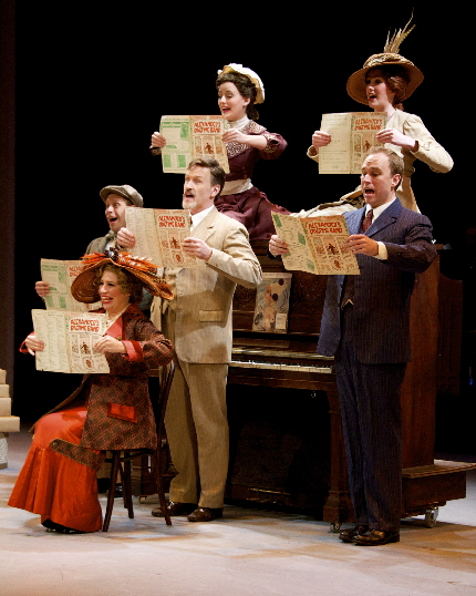 Alexander's Ragtime Band from The Wick Theatre's I Love A Piano / Photo by Amy Pasquantonio