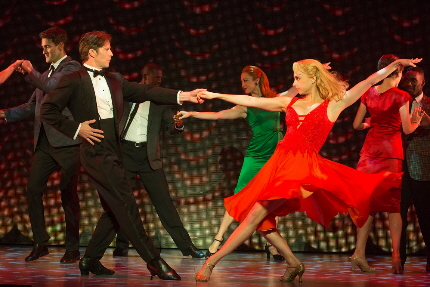 Christopher Tierney as Johnny as Jenny Winton as Penny heat up the joint in the stage version of Dirty Dancing's national tour at the Broward Center / Photos by Matt Murphy