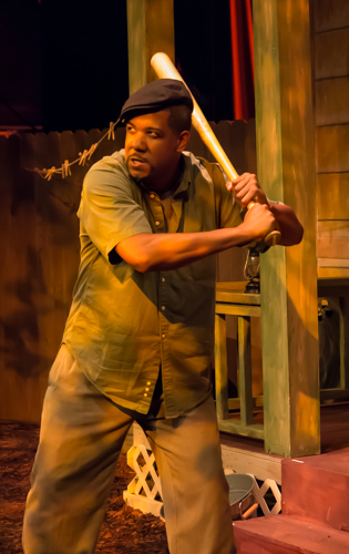 Ethan Henry as Troy Maxson in August Wilson's Fences at M Ensemble / Photos by XXXXX