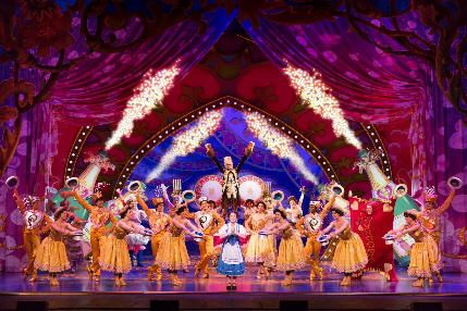 The cast of the national tour of Beauty and the Beast / Photo by Matthew Murphy