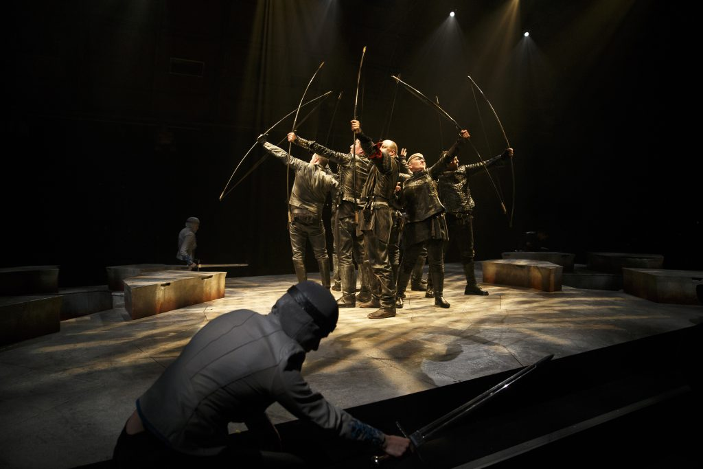 Members of the company in Breath of Kings: Redemption. Photography by David Hou.