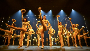 Members of the company in A Chorus Line.