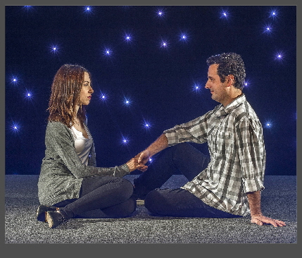 Katherine and Antonio Amadeo in last season Constellations at GableStage / Photo by George Schiavone