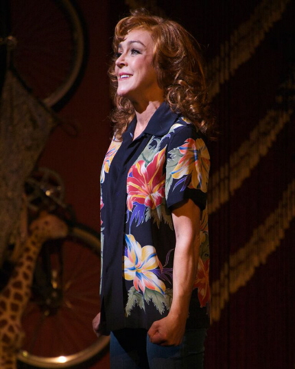 Andrea McArdle in The Wick Theatre's They're Playing Our Song / Photo by Amy Pasquantonio