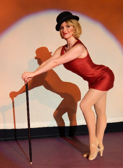 Hugel as the titular Charity Hope Valentine in Broward Stage Door's Sweet Charity.