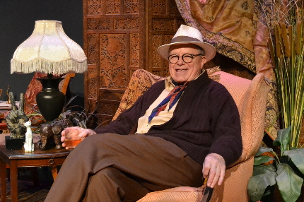 Rob Donohoe as Truman Capote in Palm Beach Dramaworks' Tru / Photos by Samantha Mighdoll