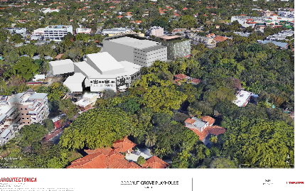 Artist's rendering of proposed Coconut Grove Playhouse complex