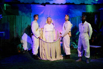 Family-Oriented 'When She Had Wings' Soars At Theatre Lab